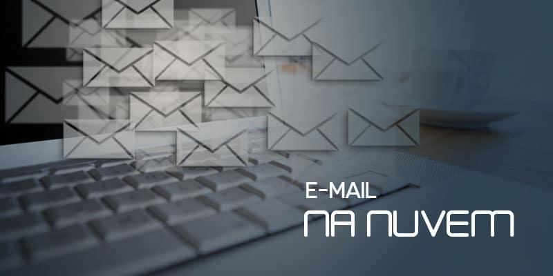 e-mail na nuvem